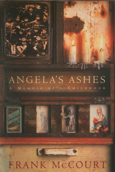 Book cover Angela\'s Ashes by Frank McCourt