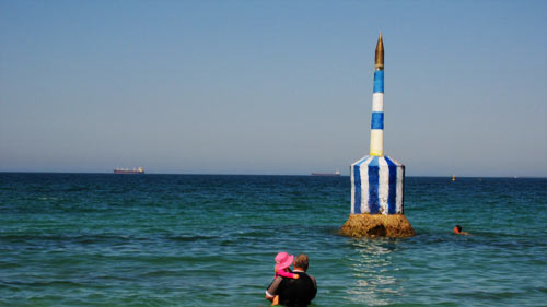 cottesloe-pylon