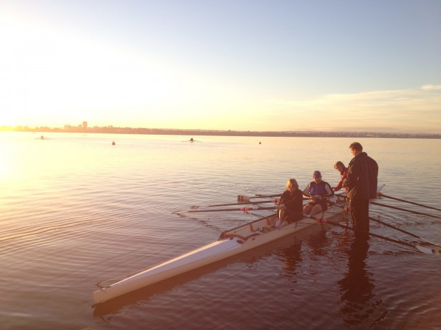 More rowing