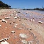 Salt lake on Rottnest Island