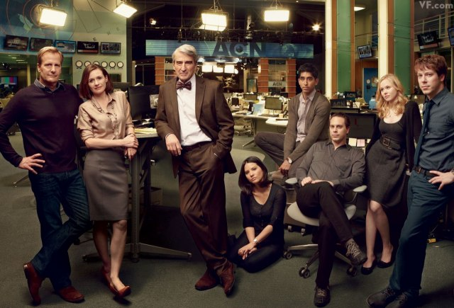 Photo from HBO's Newsroom