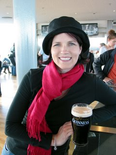 Me at the Guinness Bar